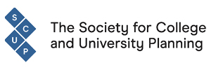Logo for The Society for College and University Planning (SCUP).