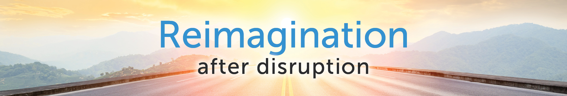 Reimagination After Disruption