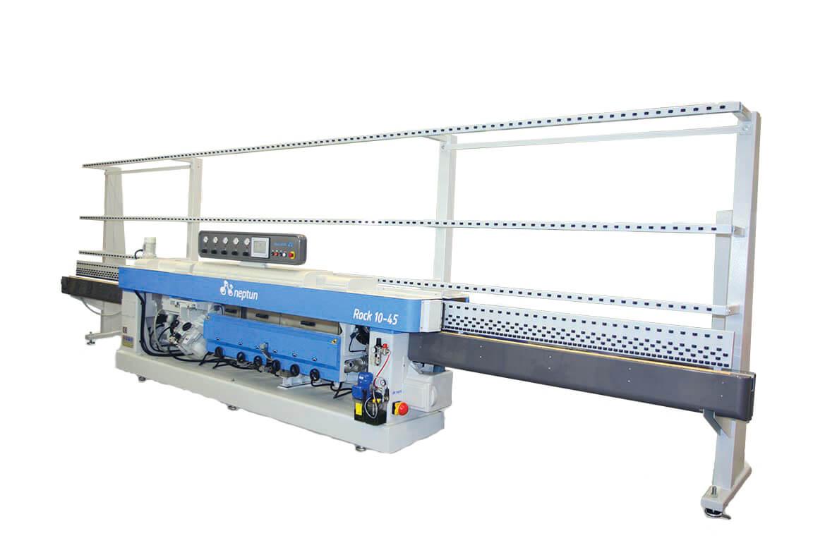 Rock 10-45 Glass Mitering Machine