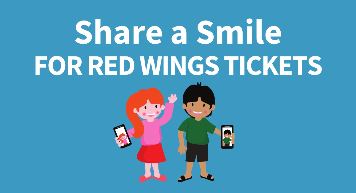 Share a Smile for Red Wings Tickets