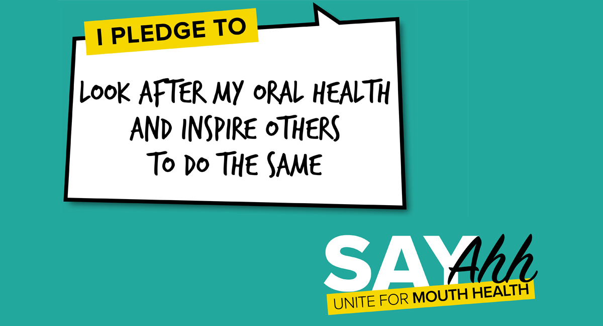 Make a Pledge For Dental Health on World Oral Health Day This March 20