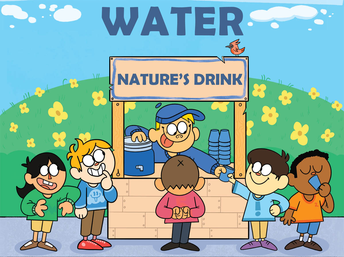 National Children's Dental Health Month 2021 Celebrates Water!