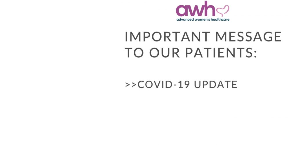 A Message From the Physicians About COVID-19