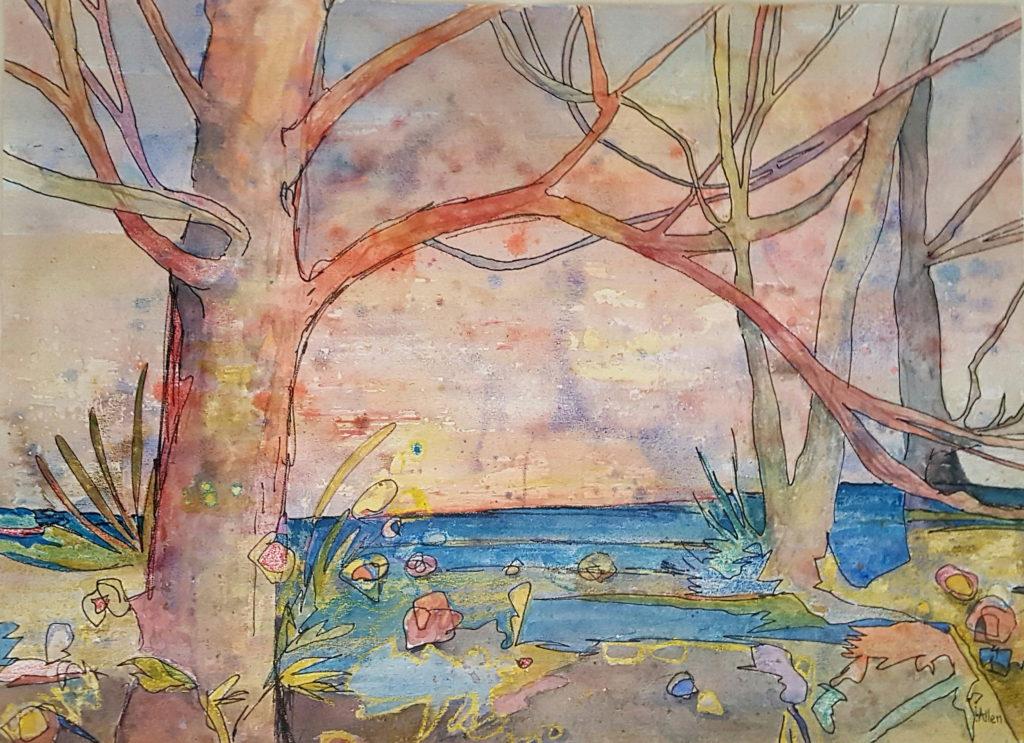 Linda Allen - Embracing Trees
