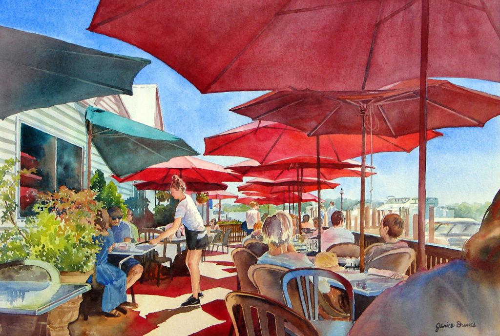 Under the Red Umbrellas - Janice Dumas