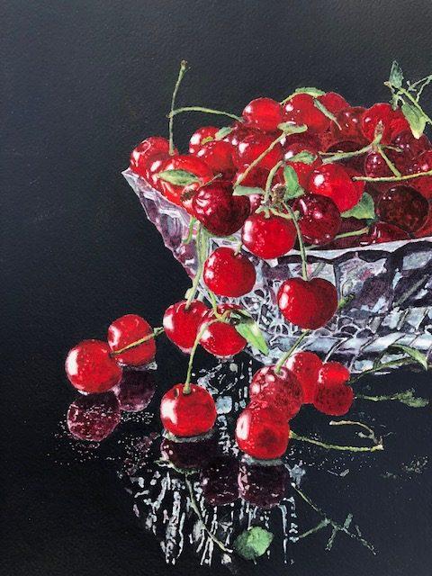 Bowl Full of Cherries - Patricia Boyst