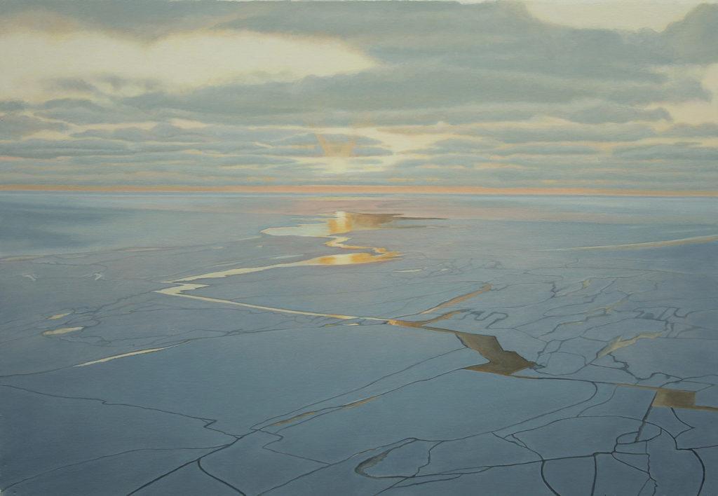 Kent Wiejaczka - Lake Michigan Ice Series #3