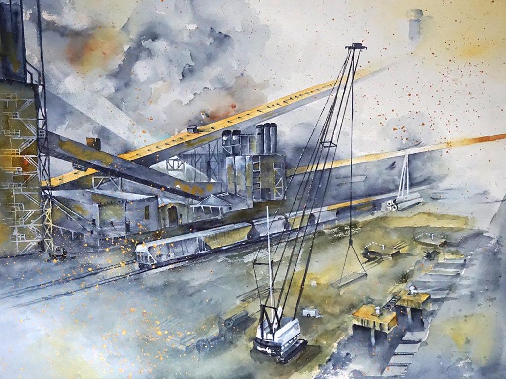 Susan Semenick - Galveston Dockyard