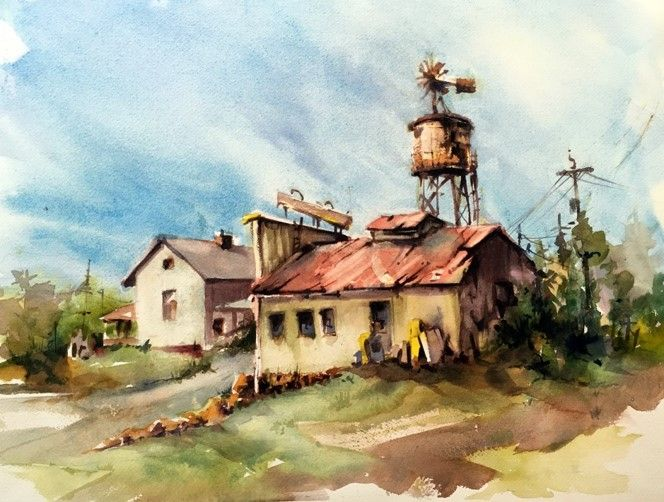 Robert Fionda - High Sky Brandywine, Texas