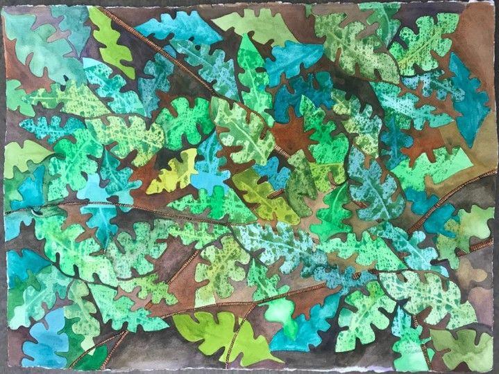 Mary R Hartman - Forest Floor