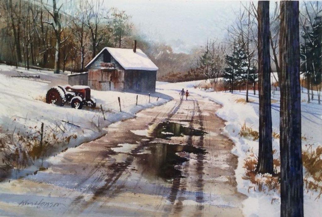 Ken Hobson - Brisk Walk