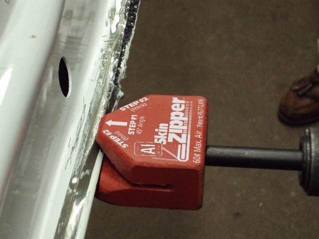 Attach a Door Skin Steck 21892 Al Skin Zipper