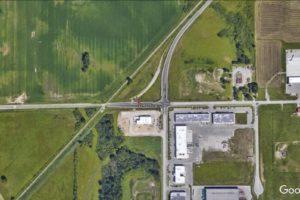 2240 Huron- Aerial View