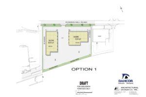 colour site plan JUNE 20_ 4.4 ACRES-OPTION 1