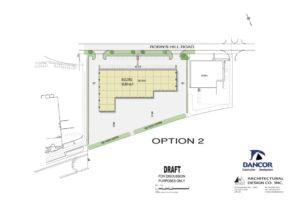 colour site plan JUNE 20_ 4.4 ACRES-OPTION 2