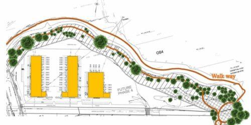 2150 Oxford Street- Phase 4 Colour Site plan - image
