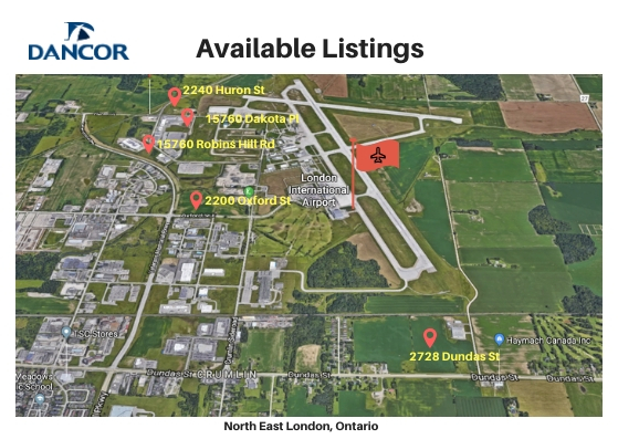 Dancor Available Listings- north east London