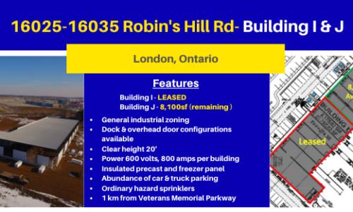 16025-16035 Robin's Hill Rd- Building I & J