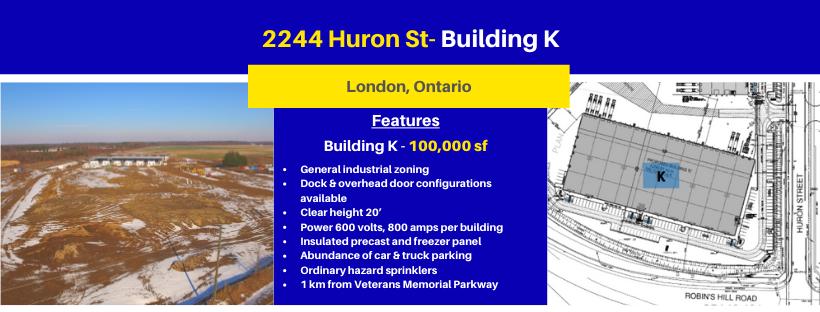 2244 Huron Street, building K