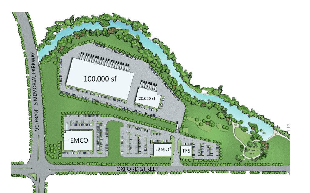 OXFORD STRRET SITE PLAN