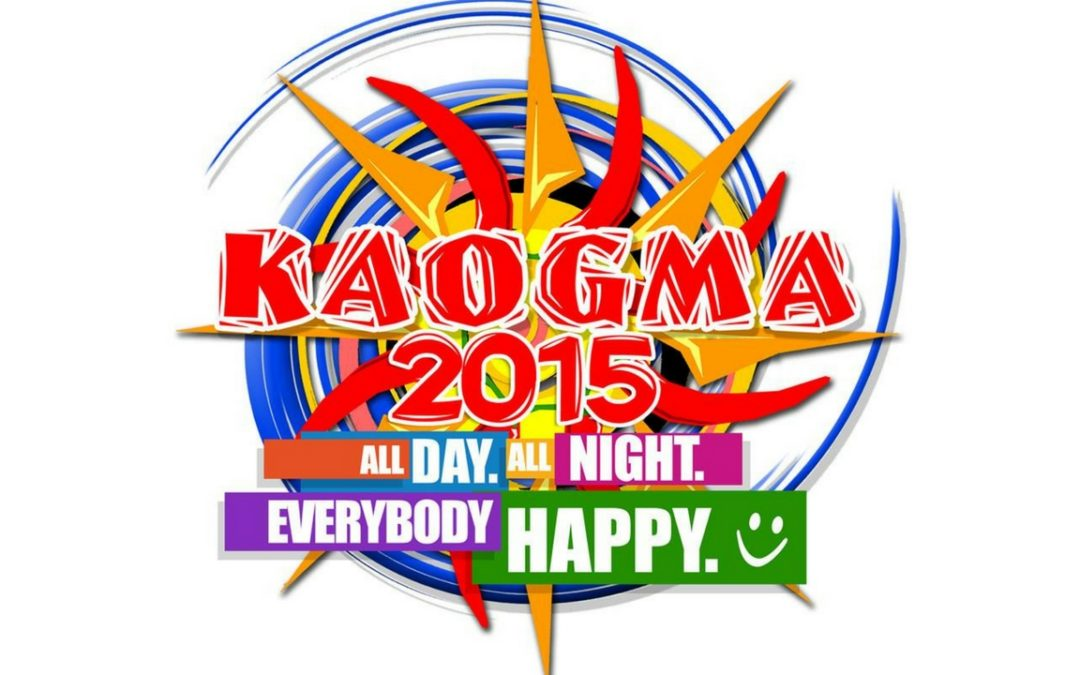 Kaogma Festival 2015: All Day All Night Everybody Happy