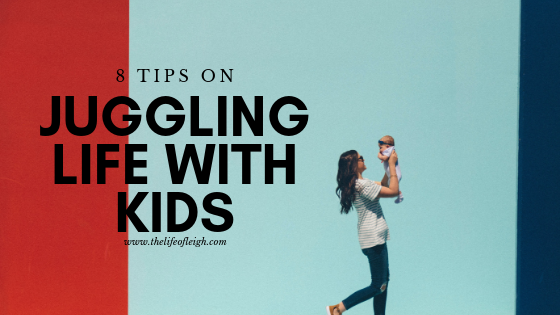 juggling life with kids