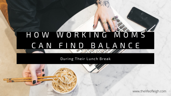 working mom find balance