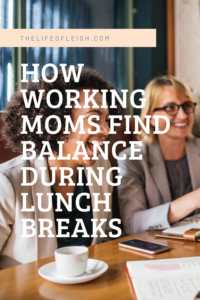 working mom balance