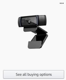 Web Cam on Amazon