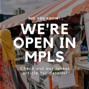 vcs Did you know_ We're open in Minneapolis!