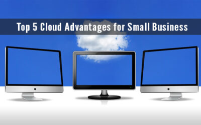 Top 5 Cloud Advantages for Small Business!!