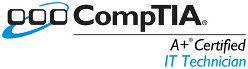 Comptia A+ for computer repair services page