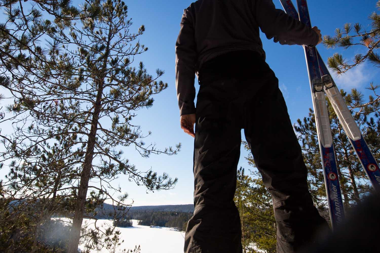 algonquin, ski, xc ski, leaf lake, pinetree, loop, bongopix, adventure, east gate, whitney, view, snowshoe, rent, rental, equipment