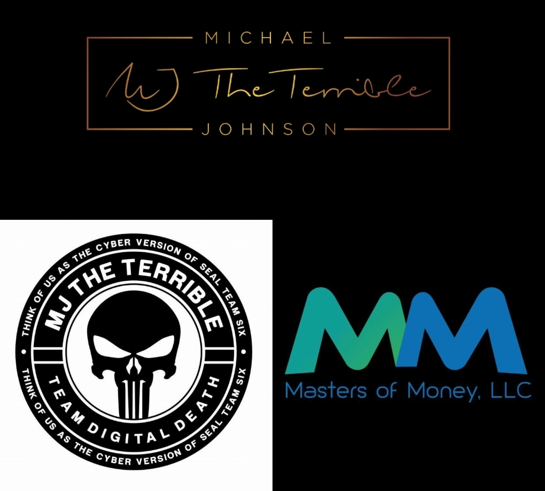 MJ The Terrible Team Digital Death Masters of Money LLC Collage