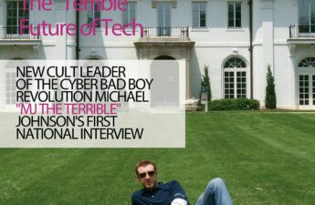 "Digital Entrepreneur Magazine Cyber Bad Boy Michael ""MJ The Terrible"" Johnson Cover"