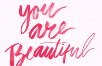 Pick and Red You Are Beautiful Picture Quote