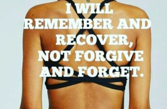 I Will Remember and Recover Quote Picture