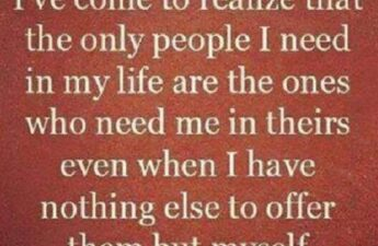 The Only People I Need In My Life Picture Quote