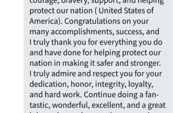 Julian Morris Thank You For Your Service MJ The Terrible Message