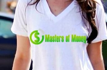 Lana Del Rey Wearing a Masters of Money T Shirt