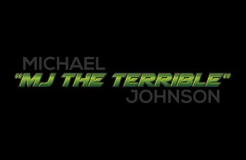"Michael ""MJ The Terrible"" Johnson Grey Green Black Logo"