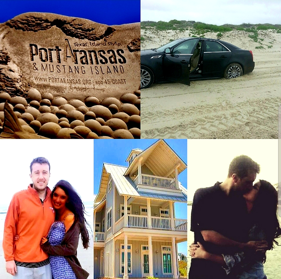 "Malia and Michael ""MJ The Terrible""Johnson Port Aransas Collage"