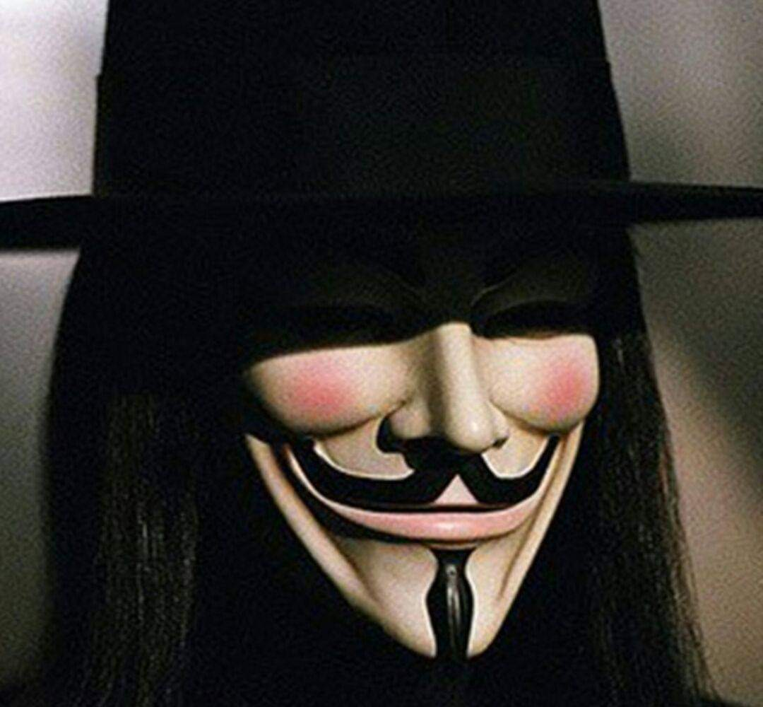 MJ The Terrible Guy Fawkes Hacker Mask