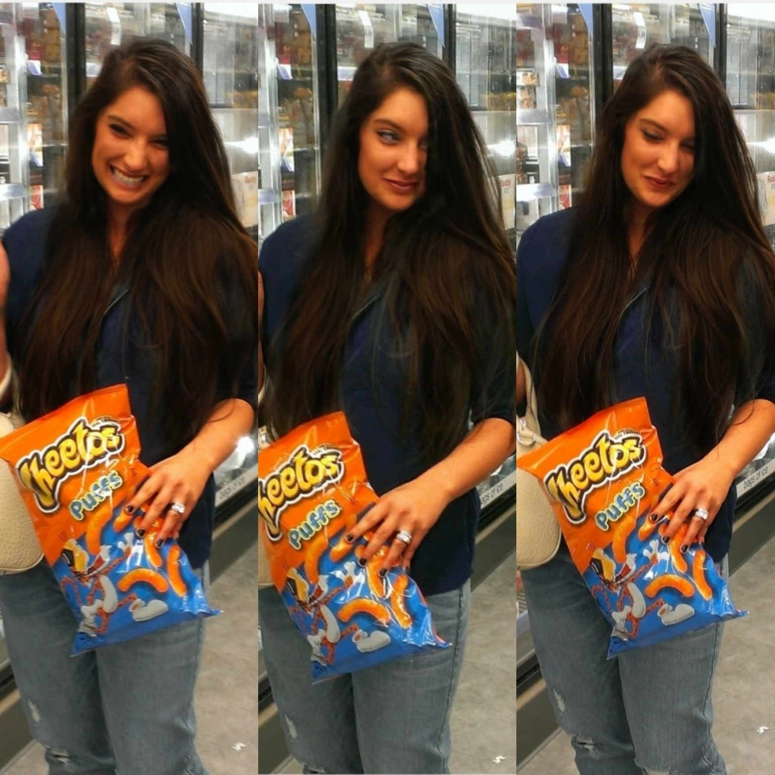 Malia May Johnson Cheetos Collage