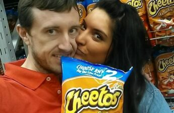 "Malia and Michael ""MJ The Terrible"" Johnson Cheetos Selfie"