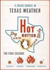 The Texas Version of Baby It's Cold Outside Graphic