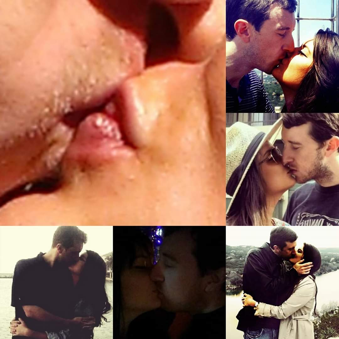 "Malia & Michael ""MJ The Terrible"" Johnson Kisses Collage"