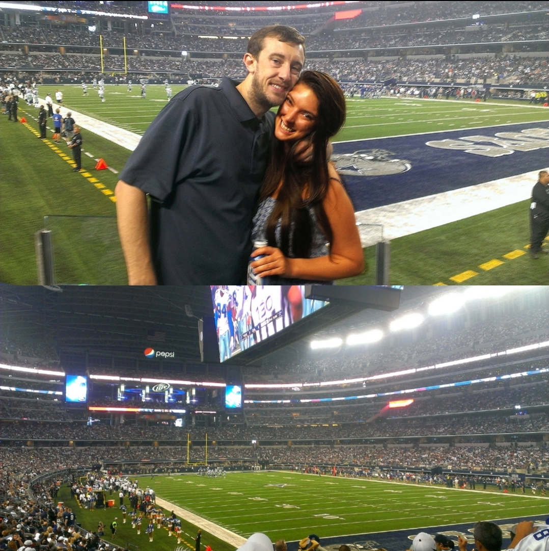 Malia and Michael MJ The Terrible Johnson Cowboys Live Event Collage