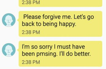 Postpartum Happiness Text Messages