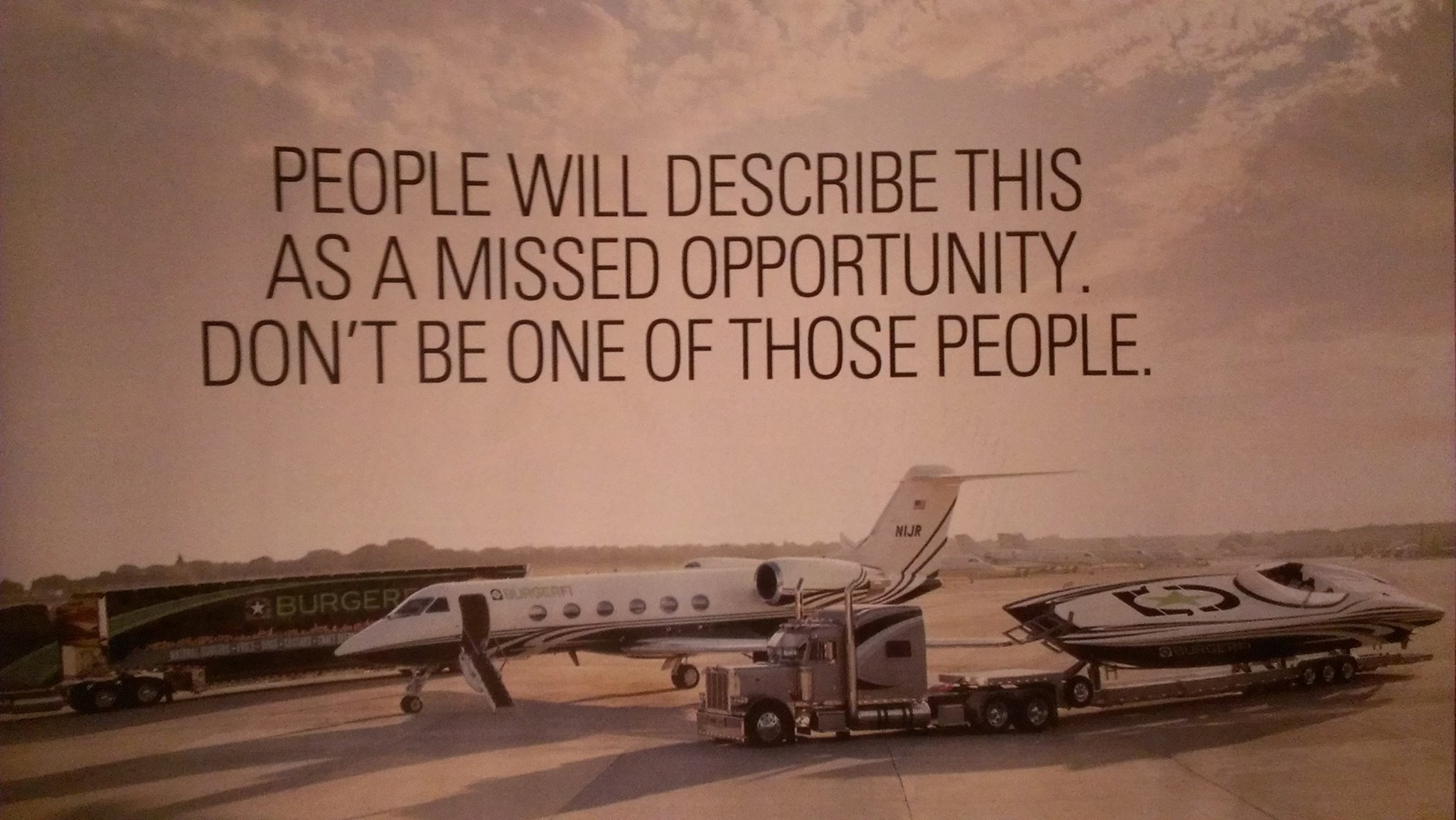 Don't Be One of Those People Missed Opportunity Picture Quote